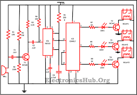 clap to turn off lights clap switch circuit for devices circuit working and applications