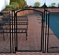 self closing self latching gate saver pool fence systems