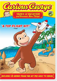 amazon curious george takes vacation u0026 discovers