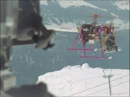 Helicopter Chair Camera Helicopter Switzerland Hd Stock Video 695 916 539