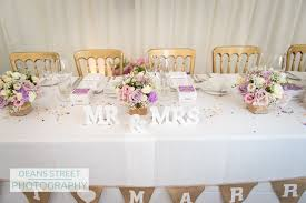 stunning wedding top table decorations wedding ideas for top table