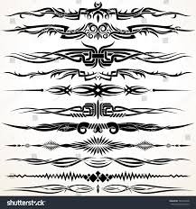 tribal gothic style design lines vector stock vector 584138278 tribal and gothic style design lines vector graphic elements