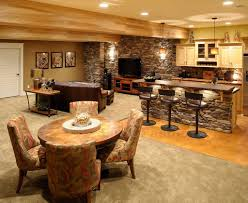 beautiful simple basement designs also interior design ideas for
