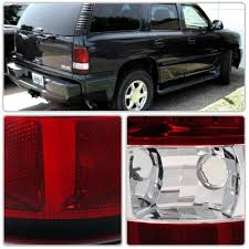 2005 gmc yukon xl third brake light gmc yukon denali 2001 2006 red and clear tail lights a1229qbr245