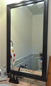 Diy Mirror Frame Bathroom Beautify Your Bathroom With These Diy Projects Eastwood Homes