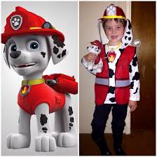diy paw patrol marshall costume halloween pinterest paw