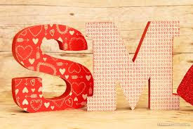 mod podge wooden letters for valentine u0027s day