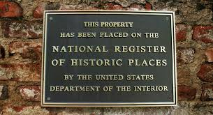 national register of historic places plaques impact signs