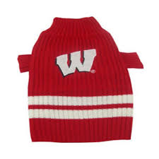 pets wisconsin sweater x small xsmall
