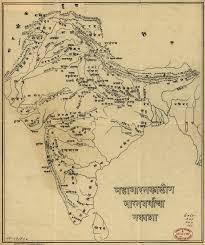 India Language Map by Map Of India In The Age Of The Mahabharata World Digital Library