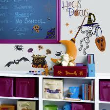 spooky halloween wall decal decoration reusable halloween wall