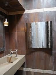 contemporary stone guest bathroom andrea wachs hgtv graphic