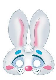 rabbit mask clipart clipartxtras