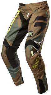 camo motocross jersey shift strike army pants revzilla