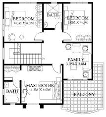 modern house design plans modern house design 2012005 eplans
