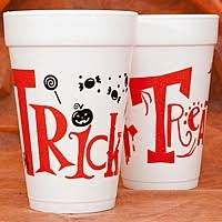Halloween Cups Personalized Halloween Wedding And Party Cups