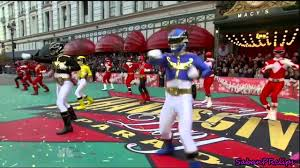thanksgiving macy s day parade 2012 power rangers megaforce