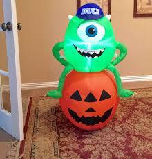 image gemmy prototype halloween monsters university inflatable