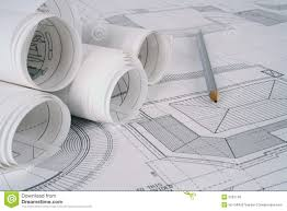 architect plans royalty free stock image image 2287146