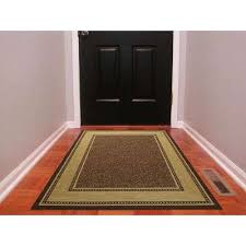 Synthetic Area Rugs 3 X 5 Brown Synthetic Area Rugs Rugs The Home Depot