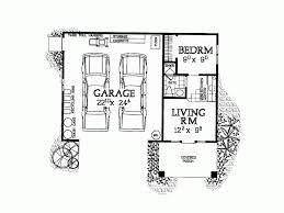 one bedroom house plan garage and carport plans house garages fascinating
