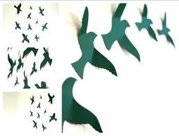 Bird Decor For Nursery 3d Bird Wall Flying Bird Wall Bird Wall Decor Bird Wall