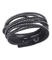 leather bracelet with swarovski crystal images 19 best swarovski bracelet images swarovski jpg