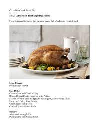 some easy to make thanksgiving dinner ideas 2016