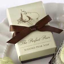 soap wedding favors the pair scented pear soap bath and soap wedding favors
