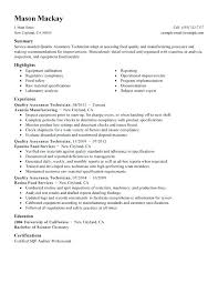 sample quality assurance resume useful materials for software
