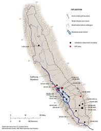 California Zip Code Map by California Aqueduct System Map California Map