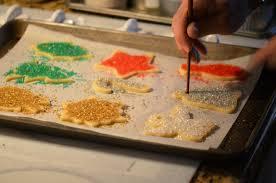 vanilla christmas cookie tree ornaments recipe vrai magazine
