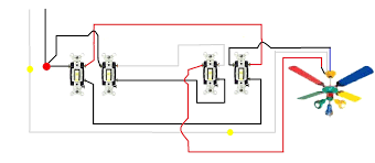 wiring diagrams 2 lights one switch installing a light 3 lovely