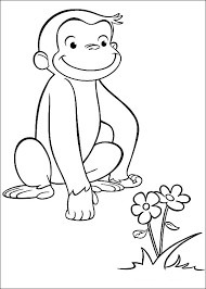 curious george coloring pages coloring pages kids