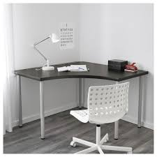 Ikea White Desk Table by Linnmon Adils Corner Table White Ikea