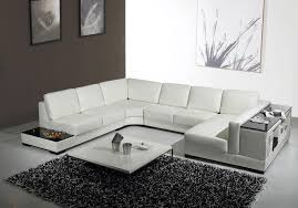 Modern Sectional Leather Sofas Sectional Sofas Modern White Leather Sectional Sofa Furniture
