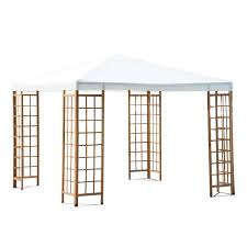 15 X 15 Metal Gazebo by Gazebos Sears