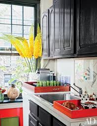 Painted Kitchens Cabinets Painted Kitchen Cabinet Ideas Photos Architectural Digest