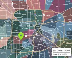 houston map with zip codes the best zip codes in houston houston chronicle