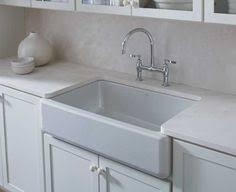 kohler cast iron farmhouse sink kohler whitehaven self trimming apron front single basin sink cast