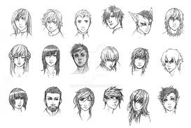 18 faces by dathron on deviantart