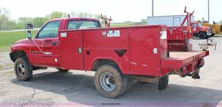 Dodge Ram 3500 Utility Truck - 1997 dodge ram 3500 lt utility truck item g5099 sold ma
