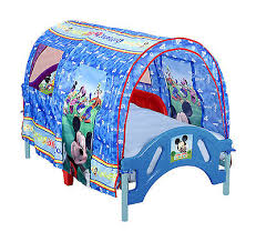 Minnie Mouse Toddler Bed With Canopy Toddler Bed Frame Disney Mickey Mouse Tent Canopy Boy Bedroom