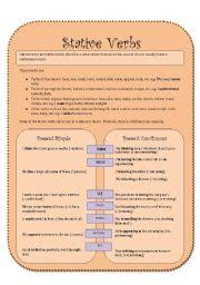 english worksheets stative verbs worksheets page 3
