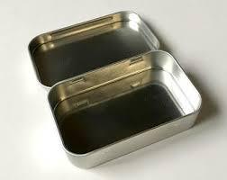 rectangular tin etsy