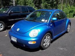 volkswagen beetle blue 2000 vw beetle gls turbo leather 5spd relisted price drop