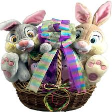 easter gift baskets easter bunny friends easter basket