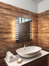 backlit bathroom vanity mirror bathroom wood framed mirrors backlit bathroom vanity mirror wood