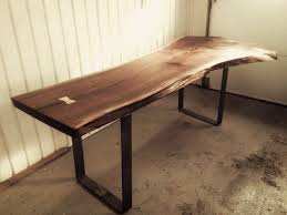 Slab Dining Room Table Dining Tables Live Edge Desk Live Edge Table For Sale Live Edge