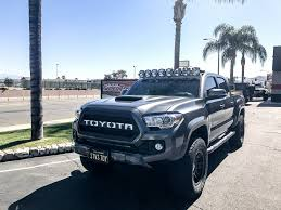 2017 tacoma light bar kc hilites gravity led pro6 led light bar 50 toyota tacoma 8 ring